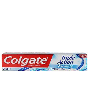 Colgate Triple Action Xtra Biały makaron Dentífrica 75 Ml Unisex