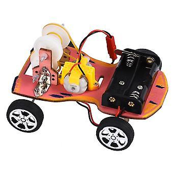 Modèle de modèle de véhicule de DIY du véhicule avec le changement de vitesse de la roue de ceinture Intelligence Building Blocks Toys