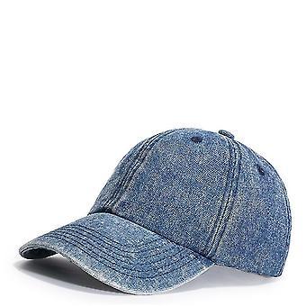 שטף ג'ינס בייסבול כובע חיצוני שמש כובע סנאפבק כובע גורה