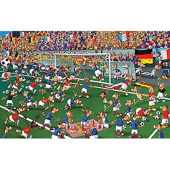 Piatnik Ruyer Football Jigsaw Puzzle (1000 Pieces)