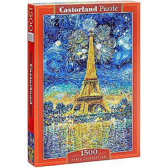 Castorland Paris Celebration Jigsaw Puzzle (1500 Pieces)
