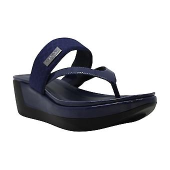 Kenneth Cole REACTION Women's Pepea Cross Platform Thong Sandal Wedge