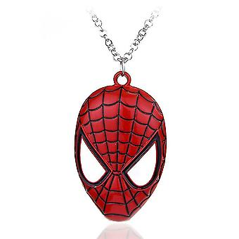 Spider-man Mask Pendant Necklace Jewelry