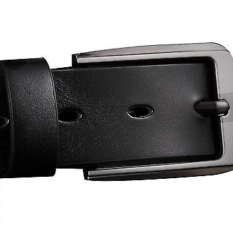 Belts For Men, Handmade Genuine Leather,  Classic And Fashion Designs(Black)