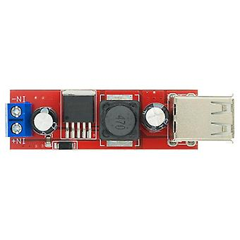Circuit accessories dc 6v-40v to 5v 3a double usb charge dc-dc step-down converter module for vehicle charger lm2596 dual usb