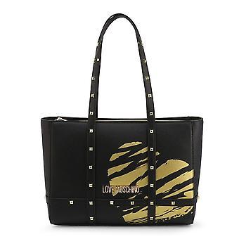 Liebe Moschino JC4076PP1CLG100B Alltag Frauen Handtaschen
