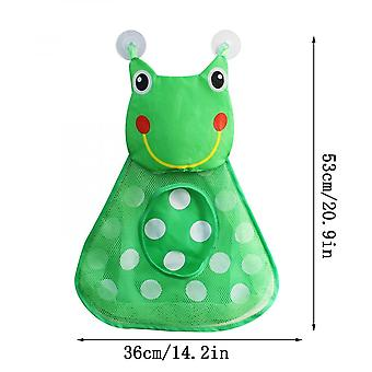 Bath Toy Organizer With 2 Suction Cup Hooks Bath Toy Net For Kids And Adults