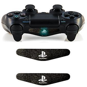 2xLED Controller Light Bar Decal Sticker F PlayStation 4