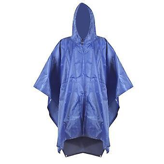 3 In 1 backpack travel rain cover rain coat hood hiking  cycling rain cover poncho waterproof raincoat outdoor camping tent mat
