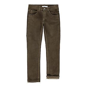 Name-it Boys Pantalon d'hiver Robin Cordbetris Stone Grey