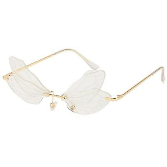 Dragonfly Wings Gradient Color Sunglasses