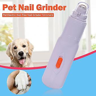 Elektrický pokročilý pet bruska na nehty Pet Dog Nail Filer Trimmers Nail Grooming Tool pro psí kočky