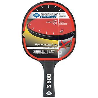 Donic Schildkrot Protection Line S500 Table Tennis Paddle Bat School Racket