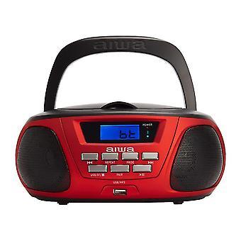 Radios bbtc-550rd portable bluetooth cd usb cassette radio