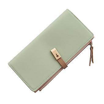 Long Women's Wallet Female Coin Purse Card Holder Wallets Pu Leather Clutch