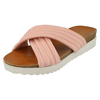 Womens omlaag naar de aarde opgevulde Comfort sandalen