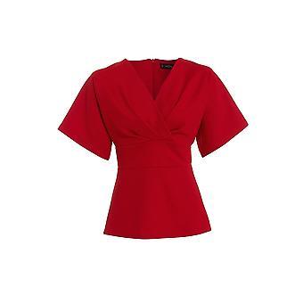 Love2Dress обернуть пояса Топ с рукавом кимоно