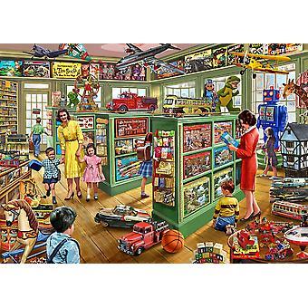 Toy Shop interiörer affisch Skriv av Steve Crisp