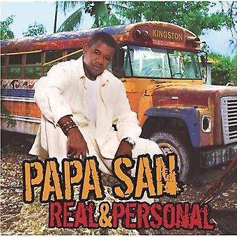 Papa San - Real & Personal [CD] USA import