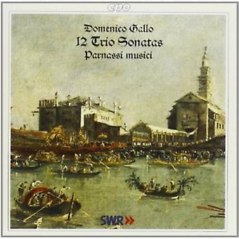 D. Gallo - Domenico Gallo: 12 triosonates [CD] USA importeren