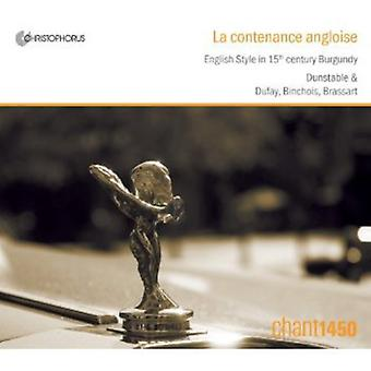 La Contenance Angloise-English Style in 15th Centu - La Contenance Angloise [CD] USA import