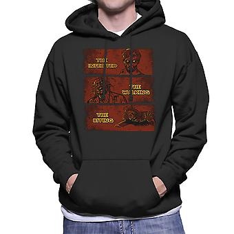 The Infected The Walking And The Biting Dead Men's Hooded Sweatshirt