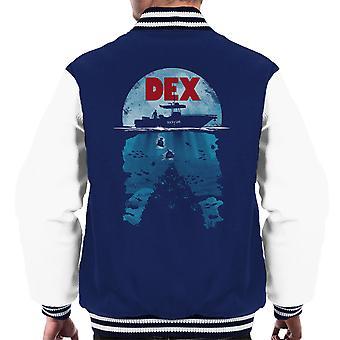 Dex Dexter Jaws Mashup Men's Varsity Jacket