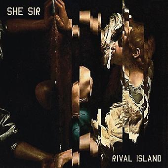 She Sir - Rival Island [CD] USA import