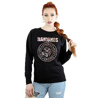 Ramones Women's Flower Rose Sweatshirt