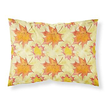 Fall Leaves Scattered Fabric Standard Pillowcase