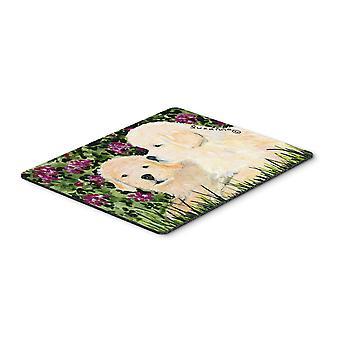 Carolines tesoros SS8826MP Golden Retriever Mouse pad, almohadilla caliente o latas de refrescos