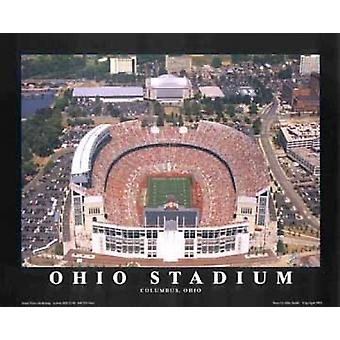 Estádio de Ohio (renovado) - Osu Colombo Poster Print by Mike Smith (28 x 22)