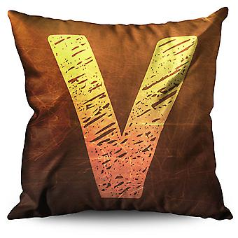 Victory Valor Linen Cushion 30cm x 30cm | Wellcoda