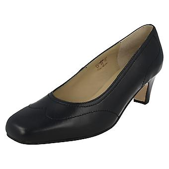 Ladies Equity Wide Fitting Court Shoes Alison