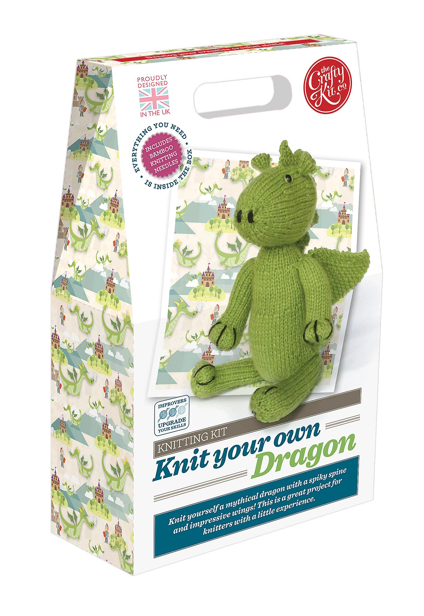 Knit Your Own Dragon Kit