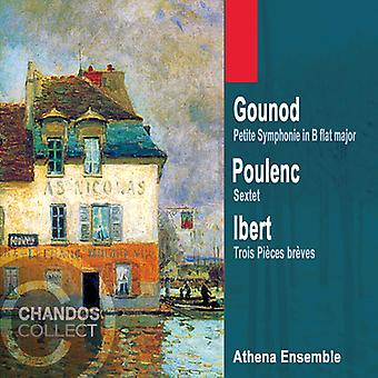Gounod/Poulenc/Ibert - French Music for Wind Ensemble [CD] USA import
