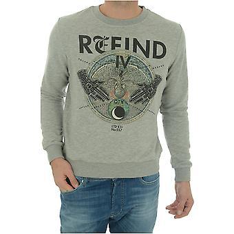 Sweatshirt cotton Printe Altamira - John Richmond