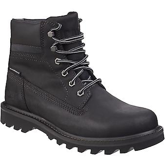 Caterpillar Mens Deplete Waterproof Lace Up Leather Boots