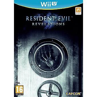 Resident Evil Revelations (Wii U) - New