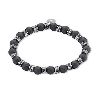 s. Oliver Jewel mužský náramek z nerezové oceli hematite Grey 2012601
