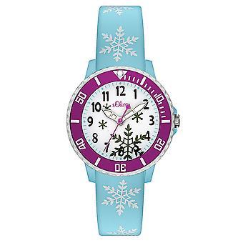 s.Oliver силиконовой лентой часы дети так-3411-PQ