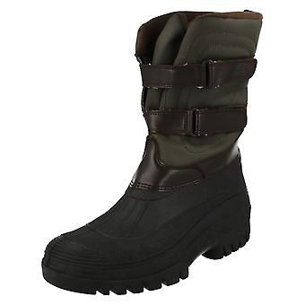 Las señoras Hi-Tec mediados ternero botas al aire libre Muck