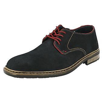 Мужская Rieker смарт/вскользь зашнуровать обувь B1222