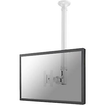 NewStar FPMA-C100WHITE 1x Monitor ceiling mount 25,4 cm (10) - 76,2 cm (30) Height-adjustable, Tiltable, Swivelling, Swivelling
