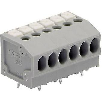 WAGO Spring-loaded terminal 1.50 mm² Number of pins 5 Grey 1 pc(s)