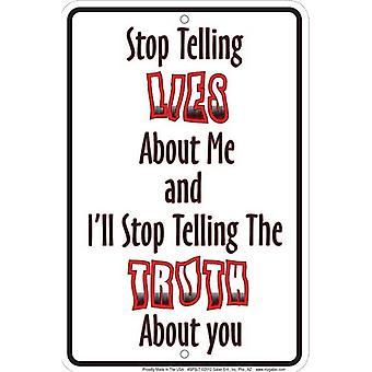 Pare de falar mentiras sobre mim.... Sinal do Metal engraçado