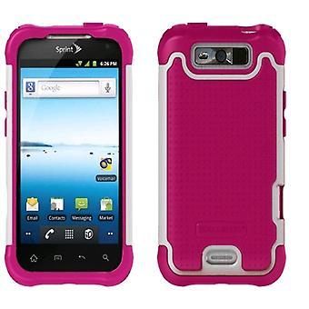 Ballistic Shell Gel Series Case for LG Viper (Pink/White)