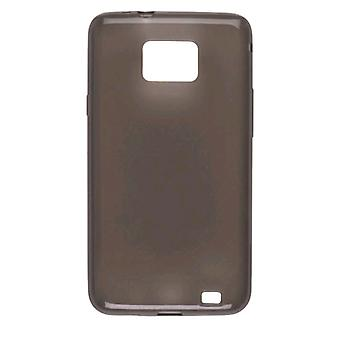 5 Pack - Wireless Lösungen Dura-Gel TPU Skin Case für Samsung Galaxy S2 SGH-i777 - Rauch
