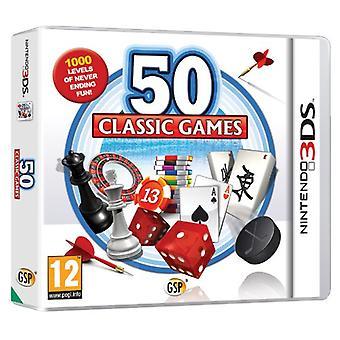 50 Classic Games (Nintendo 3DS) - New