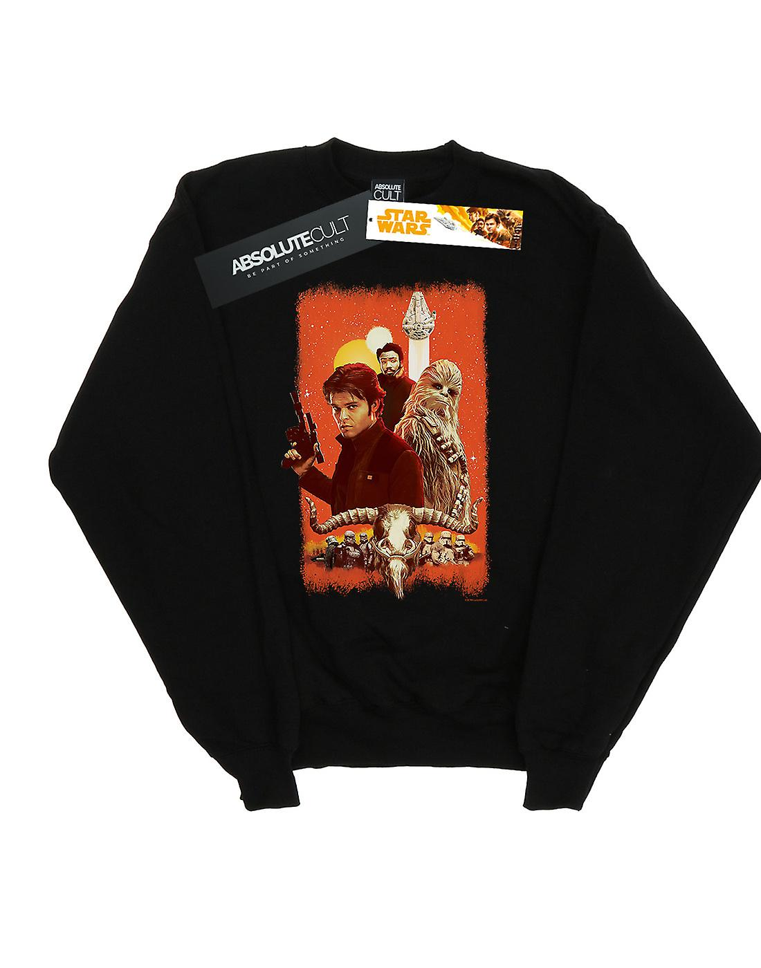 Star Wars Men's Solo Trio Paint Sweatshirt